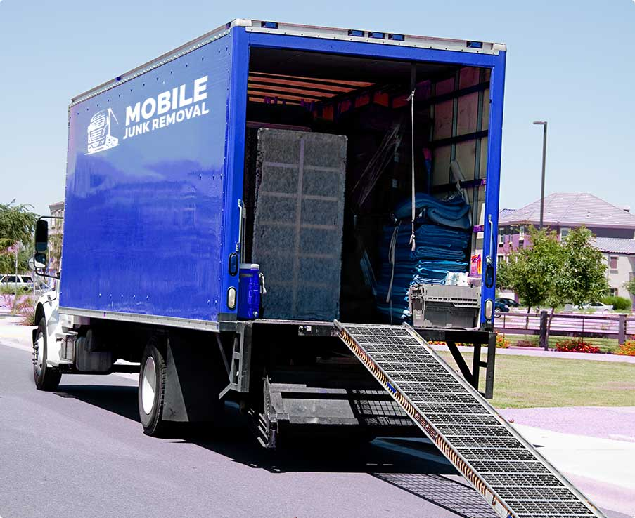 Mobile Junk Removal Truck