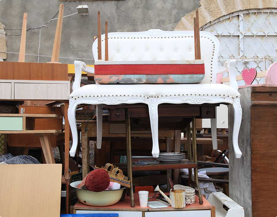 Vintage Furniture and other Staff at Jaffa Flea Market District
