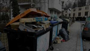 waste-paper-collection-points-for-household-rubbis